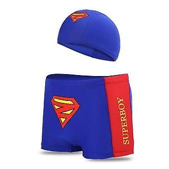 Boy Swimwear Pants Kid/child Swimsuit Shorts Cartoon Printed Swimming Trunks