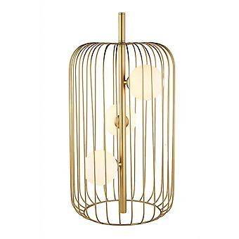 Nowoczesna lampa stołowa Złoty 3 Światło ze złotem, Biały Odcień, G9