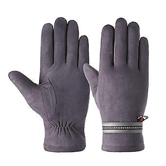 Herbst Winter Plus samt gepolstert Touchscreen warm Radfahren Handschuhe für männlich