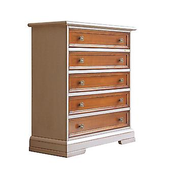 Two-tone chest of drawers 'Springville;;
