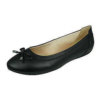Geox D Charlene B Womens Ballet Pumps / Flats - Black