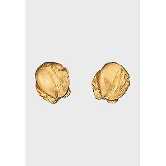 Kalevala Earrings Women Nugget 14K Gold 1651250T