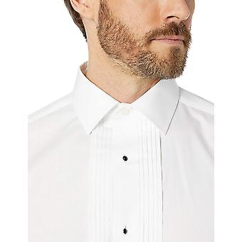 Brand - Buttoned Down Men's Tailored Fit Easy Care Bib-Front Spread-Co...