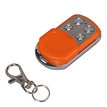 DC12V 433MHZ 4 Boutons Orange Wireless Garage Door Remote Control Switch