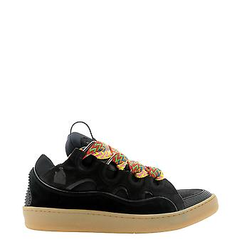 Lanvin Skrk11draga2010 Heren's Zwarte Polyester Sneakers