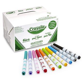Stoff-Marker, feine Linie, 10 Farben, 80 Zählen