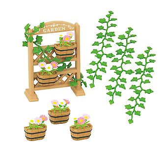 Famílias silvestres - conjunto de decoração de jardim