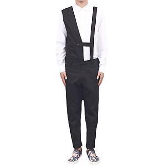Herren Jumpsuits, ärmellose lange Hose Overalls unregelmäßig atmungsaktive Strampler