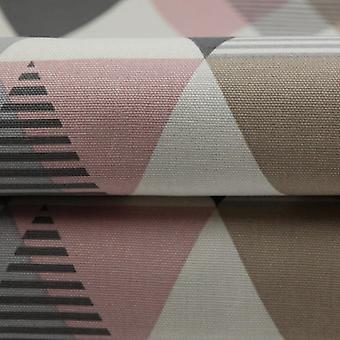 McAlister tekstiilit Vita puuvilla punastua vaaleanpunainen kangas näyte
