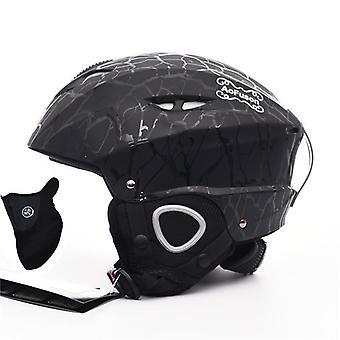 一体型のプロフェッショナル大人スノーボードヘルメット