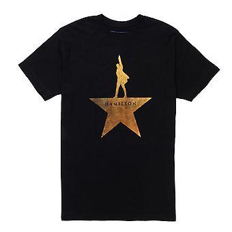 ハミルトン ゴールド スター ロゴ T シャツ