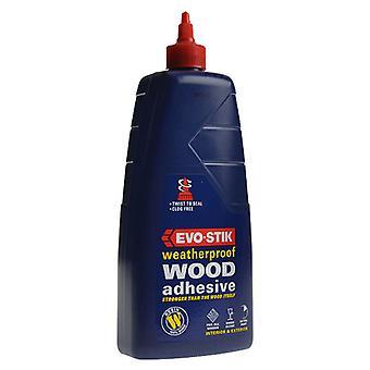 Evo-Stik 717916 Resin W Weatherproof Exterior Wood Adhesive 1 Litre