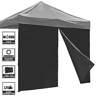 InstaHibit Universal Privacy Sidewall Zipper UV30+ Fits 10x10ft Canopy 1 Piece