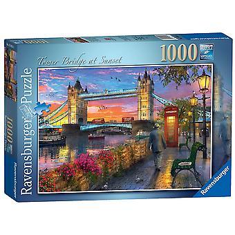 Ravensburger Jigsaw Puzzle Tower Bridge at Sunset 1000 pieces