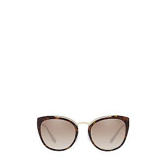 Prada PR 20US bledé zlato / havana ženské slnečné okuliare