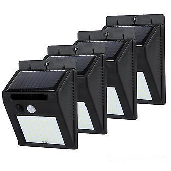 Led Solar Power Light Motion Sensor Lampa ścienna Zewnętrzna wodoodporna oszczędność energii