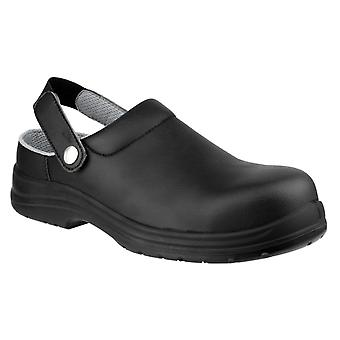 Amblers fs514 antistatic safety clogs mens