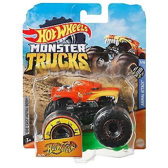 Hot wheels monster trucks 1:64 hotweiler