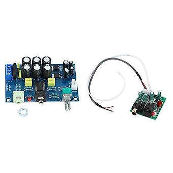1 Pcs tpa6120 headphone amplifier board zero noise diy & 1 pcs dac digital decoder for amplifier diy