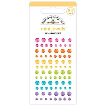 Doodlebug Design Spring Assortment Mini Jewels