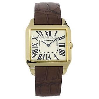 Cartier Santos Dumont 18kt Yellow Gold Men's Watch W2008751