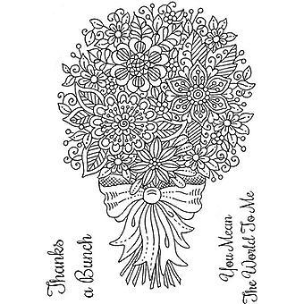 Sweet Dixie Stamp Set - Fantasy Floral Bouquet