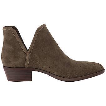 محظوظ العلامة التجارية النساء البالي الجلود مغلقة الأحذية أزياء الكاحل القدمين