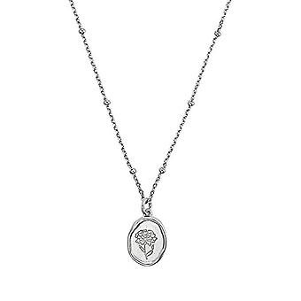 NOELANI Sterling 925(2) silver flower-shaped pendant necklace