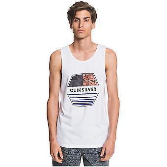 Quiksilver Drift Away Hihaton T-paita valkoinen
