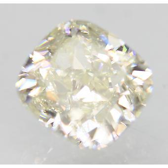 Sertifioitu 0,72 karat I väri VVS1 tyyny Natural Loose Diamond 5.11x4.8mm