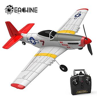 Wingspan 2.4G 6 Axis Electric RC Airplane Trainer Fixed Wing RTF for Beginner|RC Airplanes(White)