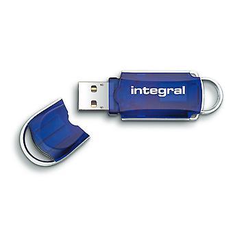 Integral 256GB USB2.0 Memory Flash Drive (Memory Stick) Courier Blue