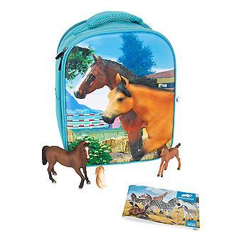 ANIMAL PLANET Mojo Farmland 3D Backpack Playset