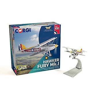Corgi AA27304 Hawker Fury Mk.I K2065 RAF No.1 Squadron 'C'  100 Years RAF 1:72