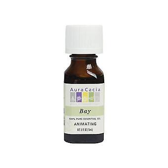 Aura Cacia Essential Oil Bay, (pimenta racemosa) 0.5 Fl Oz