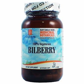 L. A .Naturals Bilberry Raw Herb, 60 Veg Caps