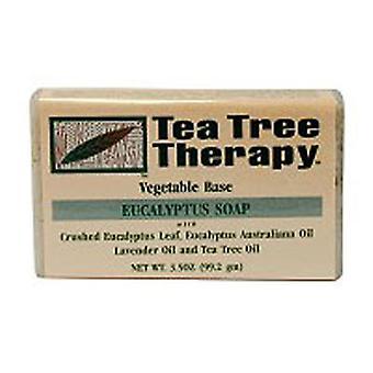 Tea Tree Therapy EUCALYPTUS SOAP, 3.5 Oz