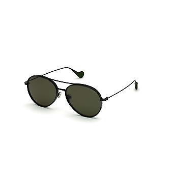Moncler ML 0121 38R Brons Andra/Gröna Polariserade Solglasögon