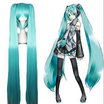 Hatsune Miku Wigs Long Anime Cosplay Wigs Blue
