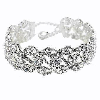 Short Women Necklace Full Diamond Welding Alloy Pendant For Ball
