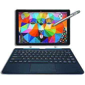 [4 Bonusartikel]  PicassoTab 10 Zoll Zeichentablett mit Tastatur und Eingabestift, 4GB, 64GB,