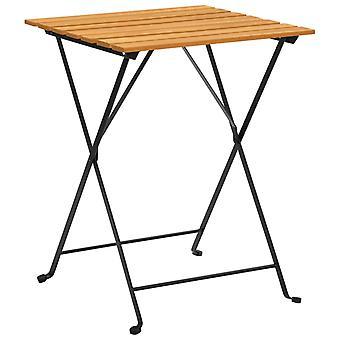 vidaXL bistro table 55x54x71 cm Acacia solid wood