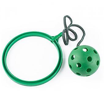 קפיצות צעצוע סווינג כדורים - משחק כושר נהדר לילדים (ירוק)