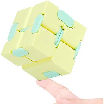 Fidget Infinity Cube Gelb