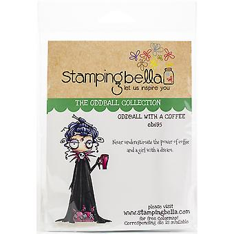 Stamping Bella Cling Stamps - Oddball With A Coffee
