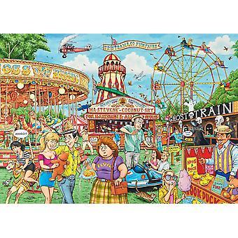 Ravensburger Best of British - Tivoli palapeli (1000 kappaletta)