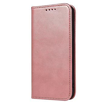 H-grund telefonväska för Samsung Galaxy S10e fodral - kortfack, stativfunktion och osynlig magnetisk stängning