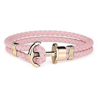Unisex Bracelet Paul Hewitt PH-PH-L-G-A Pink Leather/19-20 cm