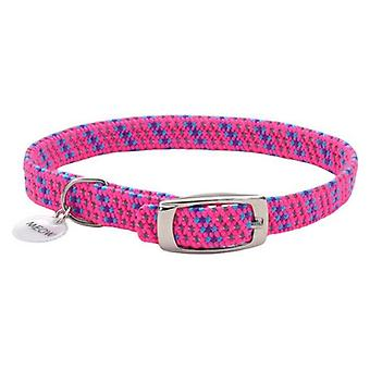 "Coastal Pet Elastacat Reflective Safety Collar with Charm Pink - Small (Neck: 8-10"")"