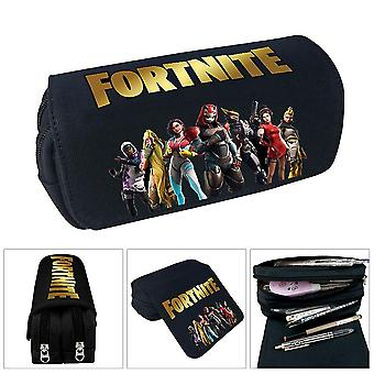 Fortnite children's pencil case(Black)